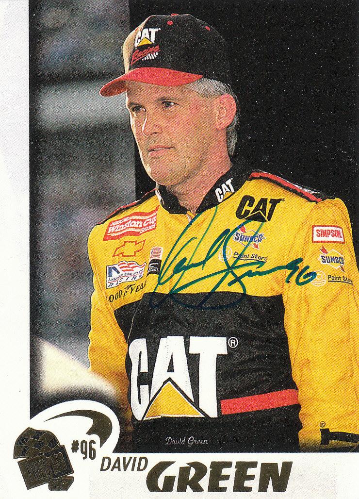 1997 Press Pass Autographs #25 David Green VIP
