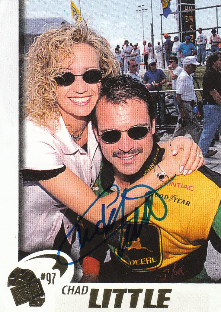 1997 Press Pass Autographs #29 Chad Little VIP