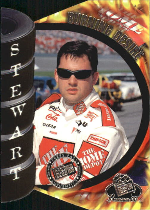 1999 Press Pass Premium Burning Desire #FD6B Tony Stewart 1:18
