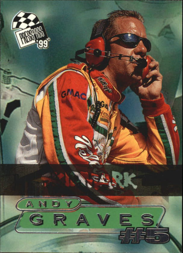 1999 Press Pass Skidmarks #69 Andy Graves
