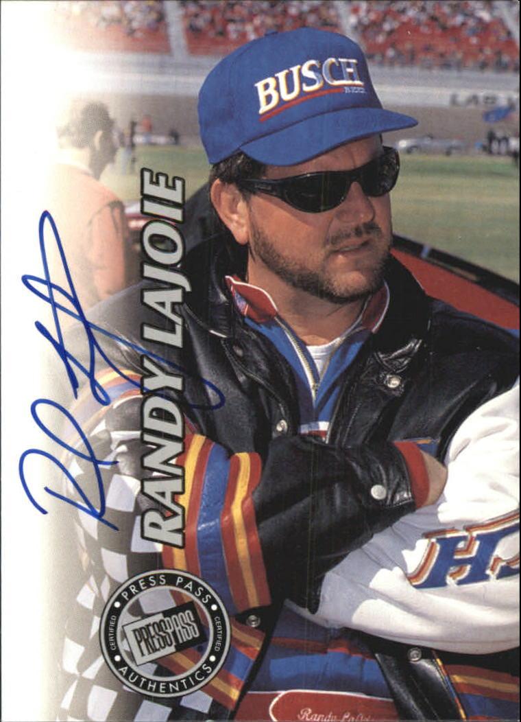1999 Press Pass Autographs #14 Randy LaJoie/500
