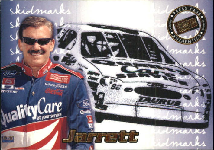 2000 Press Pass Skidmarks #SK1 Dale Jarrett
