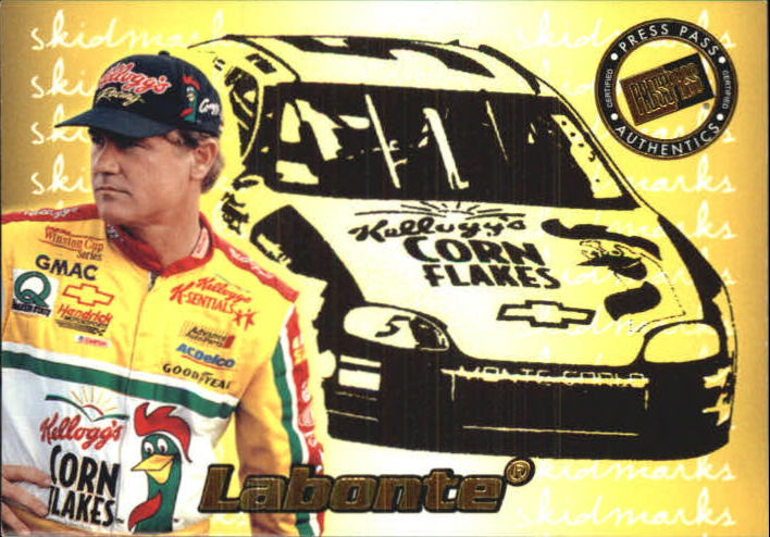 2000 Press Pass Skidmarks #SK8 Terry Labonte