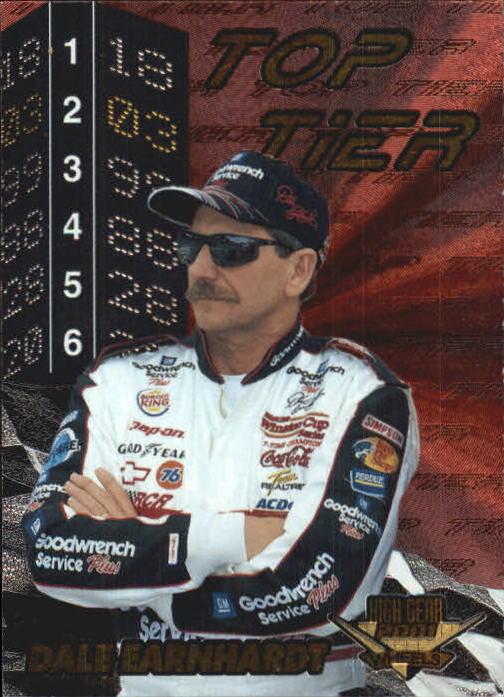 2001 Wheels High Gear Top Tier #TT2 Dale Earnhardt