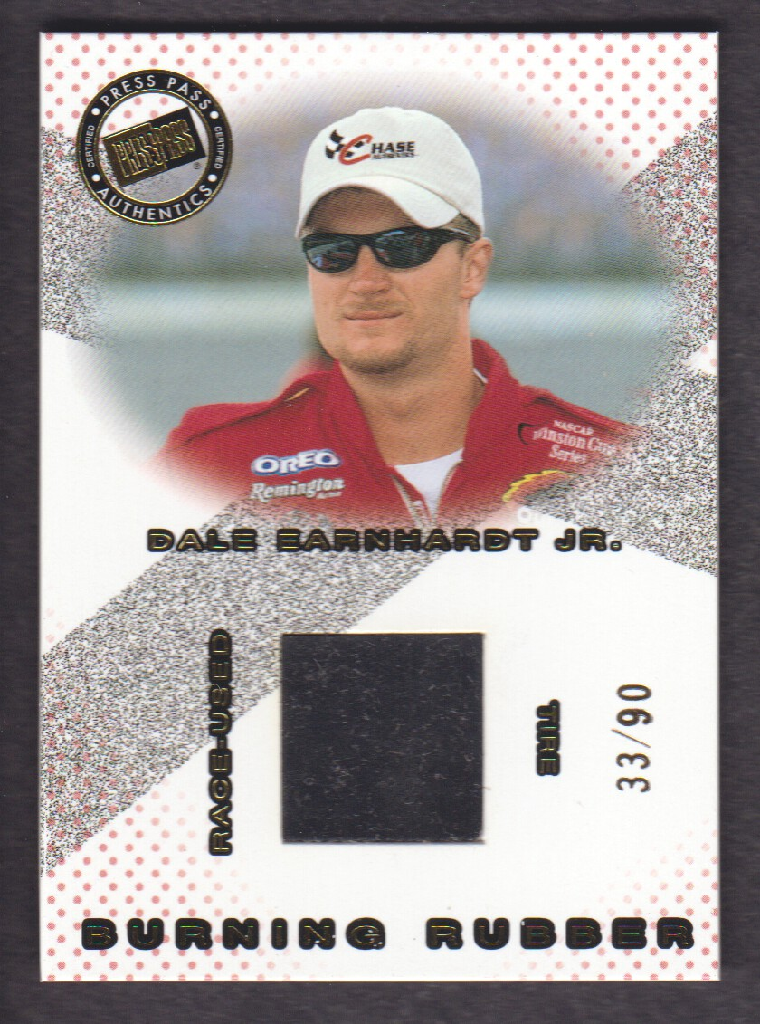 2001 Press Pass Burning Rubber Drivers #BRD8 Dale Earnhardt Jr./90