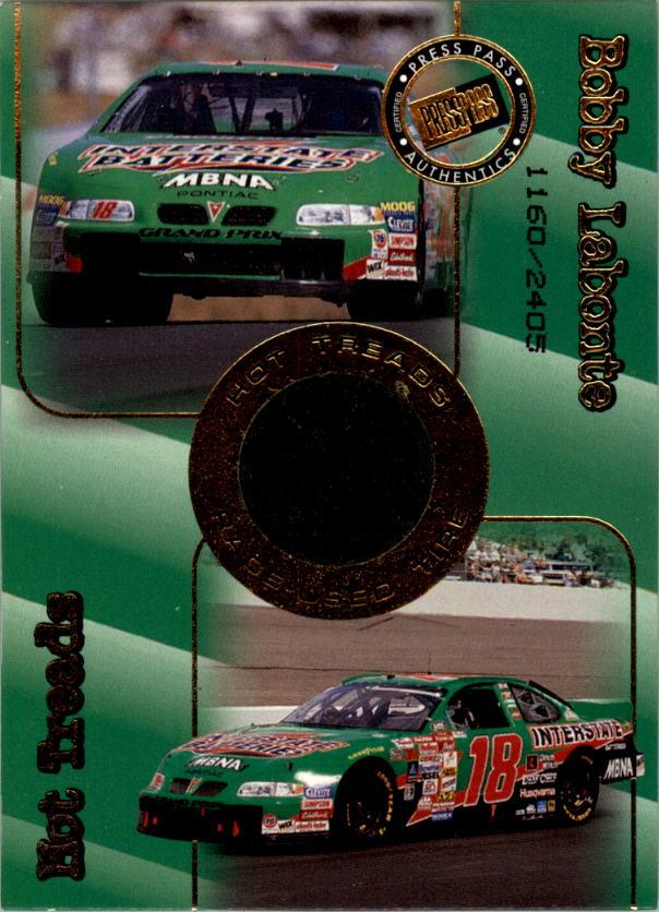 2001 Press Pass Hot Treads #HT1 Bobby Labonte/2405