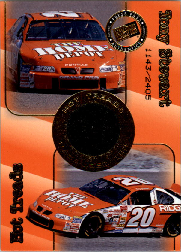 2001 Press Pass Hot Treads #HT2 Tony Stewart/2405