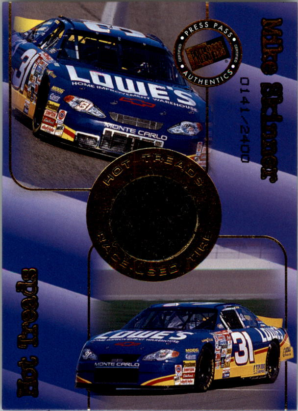 2001 Press Pass Hot Treads #HT4 Mike Skinner/2400