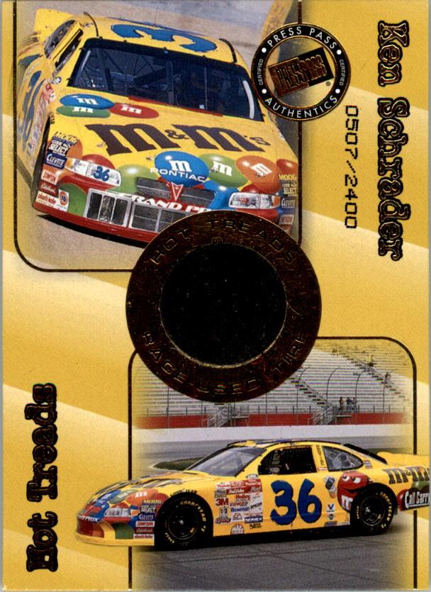 2001 Press Pass Hot Treads #HT5 Ken Schrader/2500