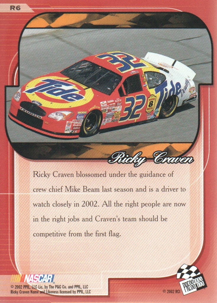 2002-Press-Pass-Premium-Parallels-NASCAR-Racing-Cards-Pick-From-List thumbnail 3