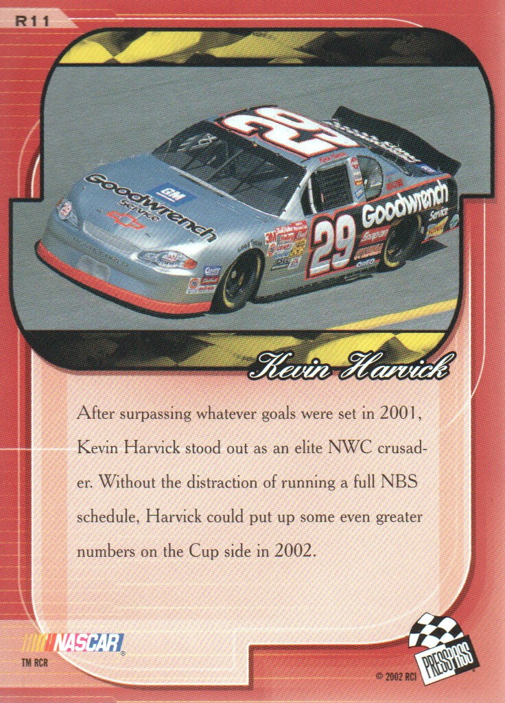 2002-Press-Pass-Premium-Parallels-NASCAR-Racing-Cards-Pick-From-List thumbnail 5