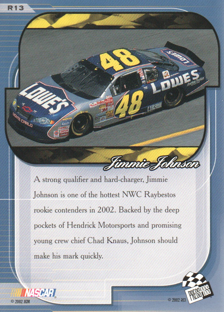 2002-Press-Pass-Premium-Parallels-NASCAR-Racing-Cards-Pick-From-List thumbnail 7