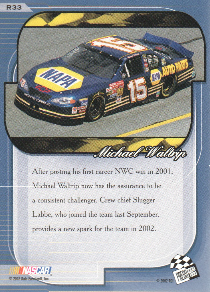 2002-Press-Pass-Premium-Parallels-NASCAR-Racing-Cards-Pick-From-List thumbnail 15