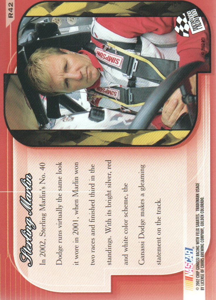 2002-Press-Pass-Premium-Parallels-NASCAR-Racing-Cards-Pick-From-List thumbnail 17
