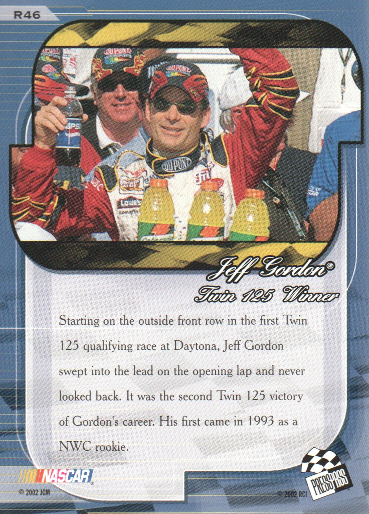 2002-Press-Pass-Premium-Parallels-NASCAR-Racing-Cards-Pick-From-List thumbnail 19