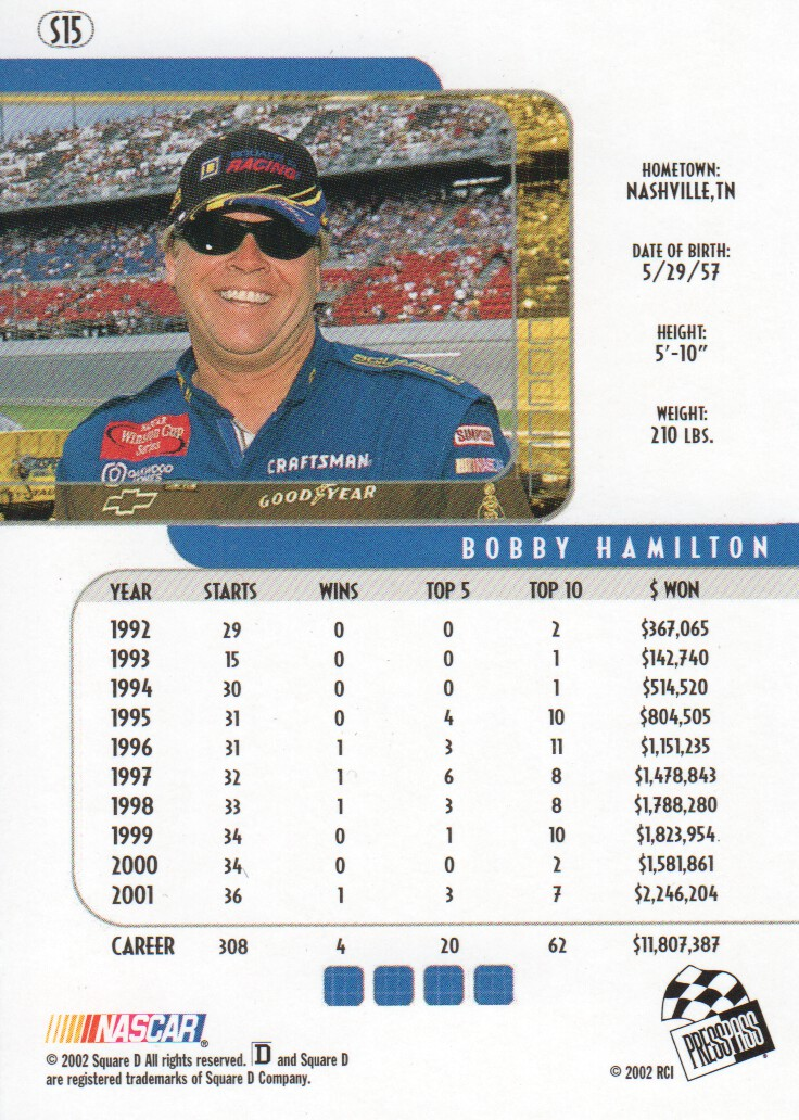 2002-Press-Pass-Eclipse-Parallels-NASCAR-Racing-Cards-Pick-From-List thumbnail 5