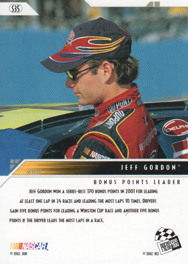 2002-Press-Pass-Eclipse-Parallels-NASCAR-Racing-Cards-Pick-From-List thumbnail 17
