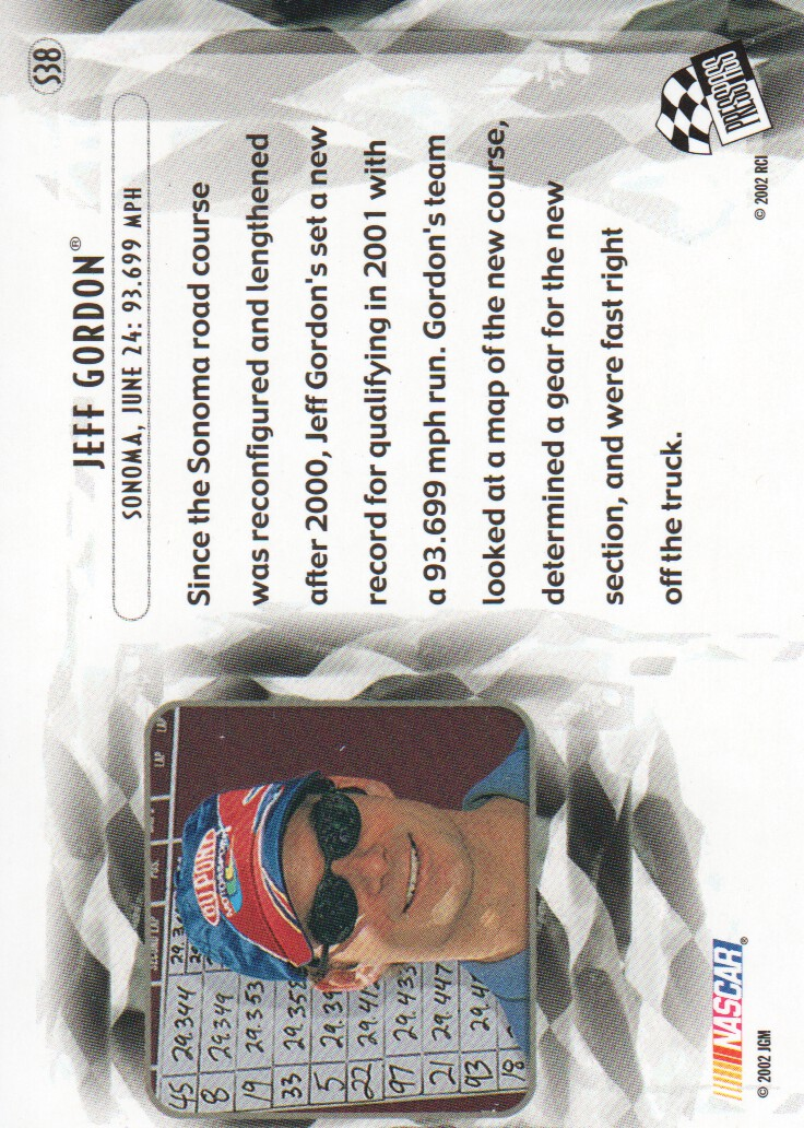 2002-Press-Pass-Eclipse-Parallels-NASCAR-Racing-Cards-Pick-From-List thumbnail 19