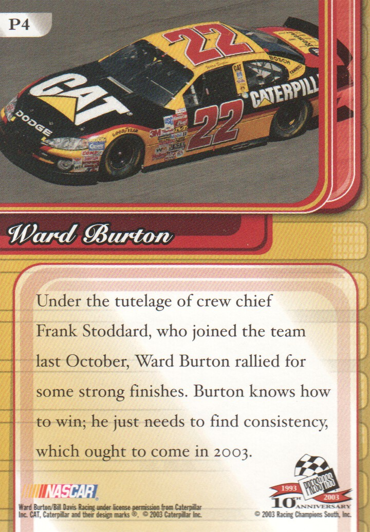 2003-Press-Pass-Premium-Parallels-NASCAR-Racing-Cards-Pick-From-List thumbnail 7
