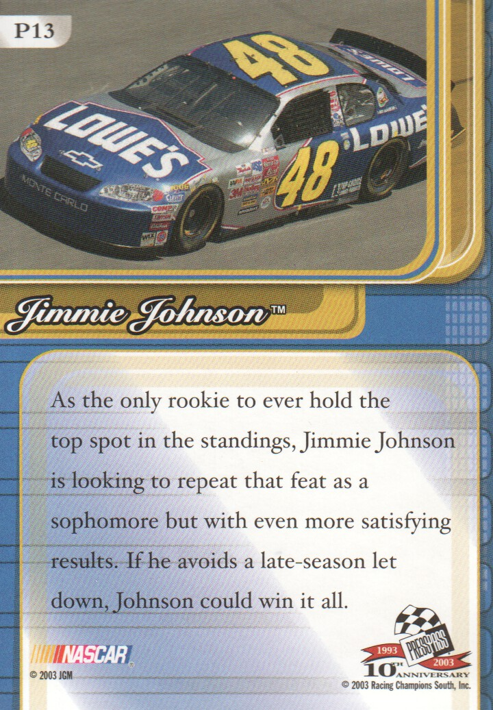 2003-Press-Pass-Premium-Parallels-NASCAR-Racing-Cards-Pick-From-List thumbnail 13