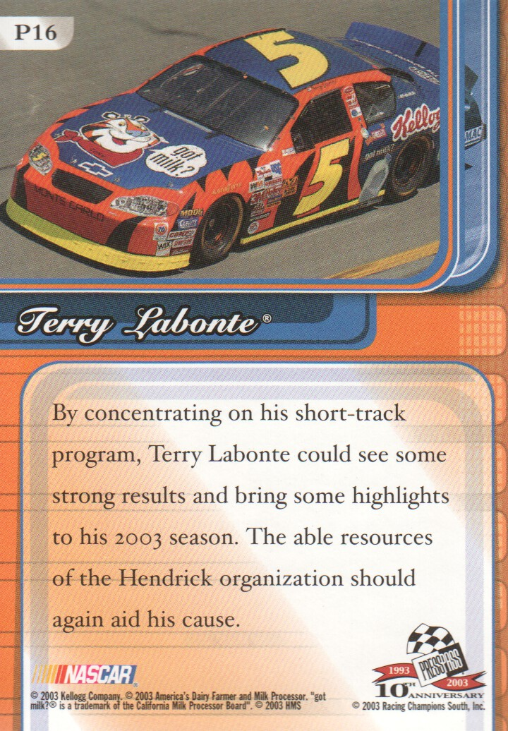 2003-Press-Pass-Premium-Parallels-NASCAR-Racing-Cards-Pick-From-List thumbnail 19