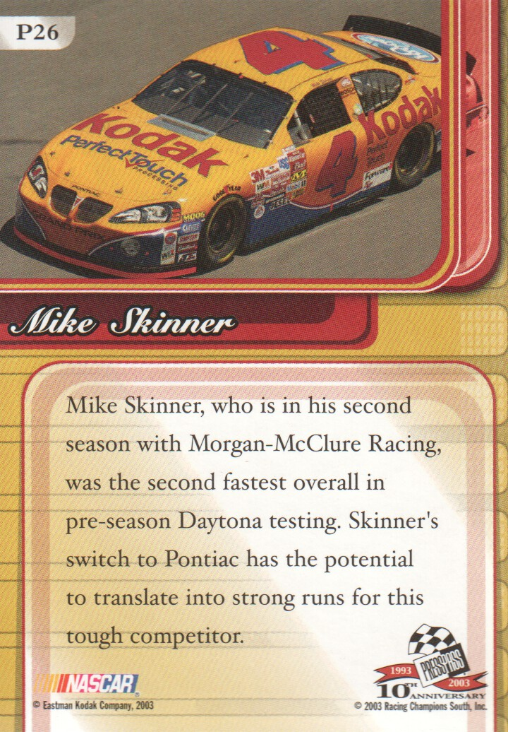 2003-Press-Pass-Premium-Parallels-NASCAR-Racing-Cards-Pick-From-List thumbnail 29