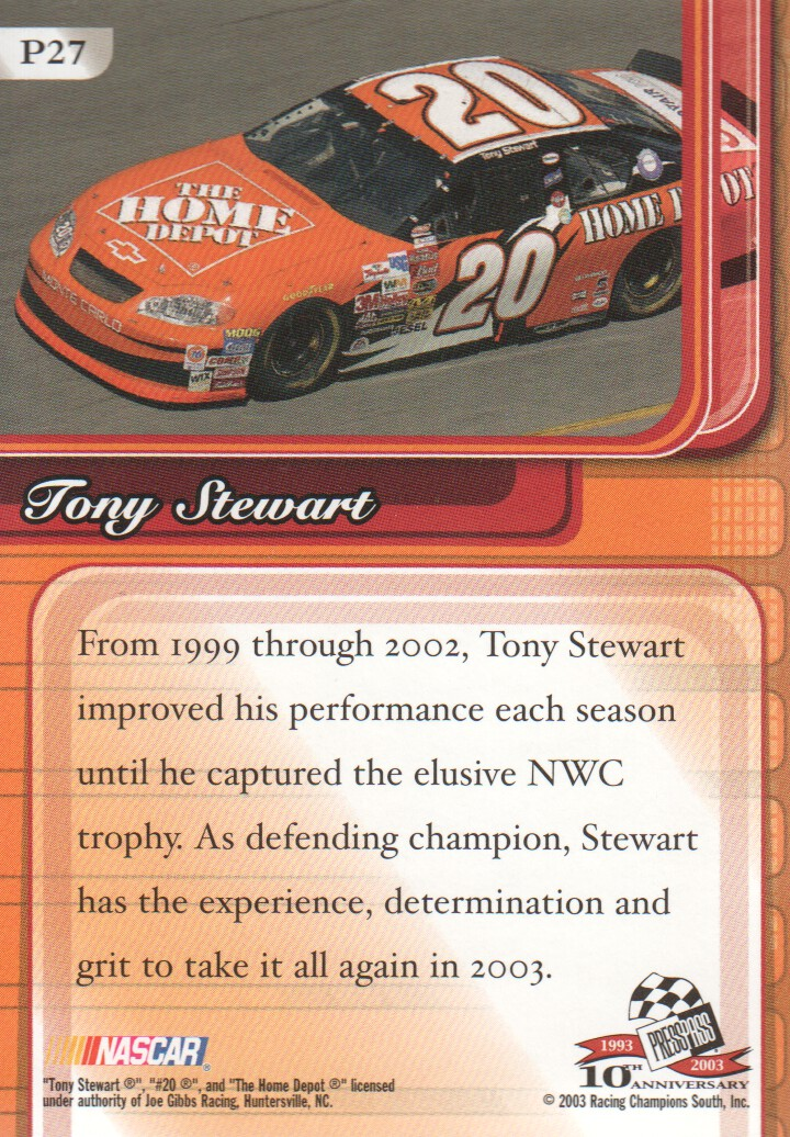 2003-Press-Pass-Premium-Parallels-NASCAR-Racing-Cards-Pick-From-List thumbnail 31