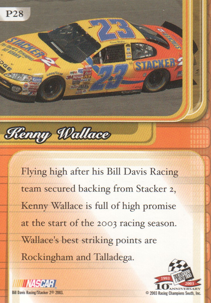 2003-Press-Pass-Premium-Parallels-NASCAR-Racing-Cards-Pick-From-List thumbnail 33