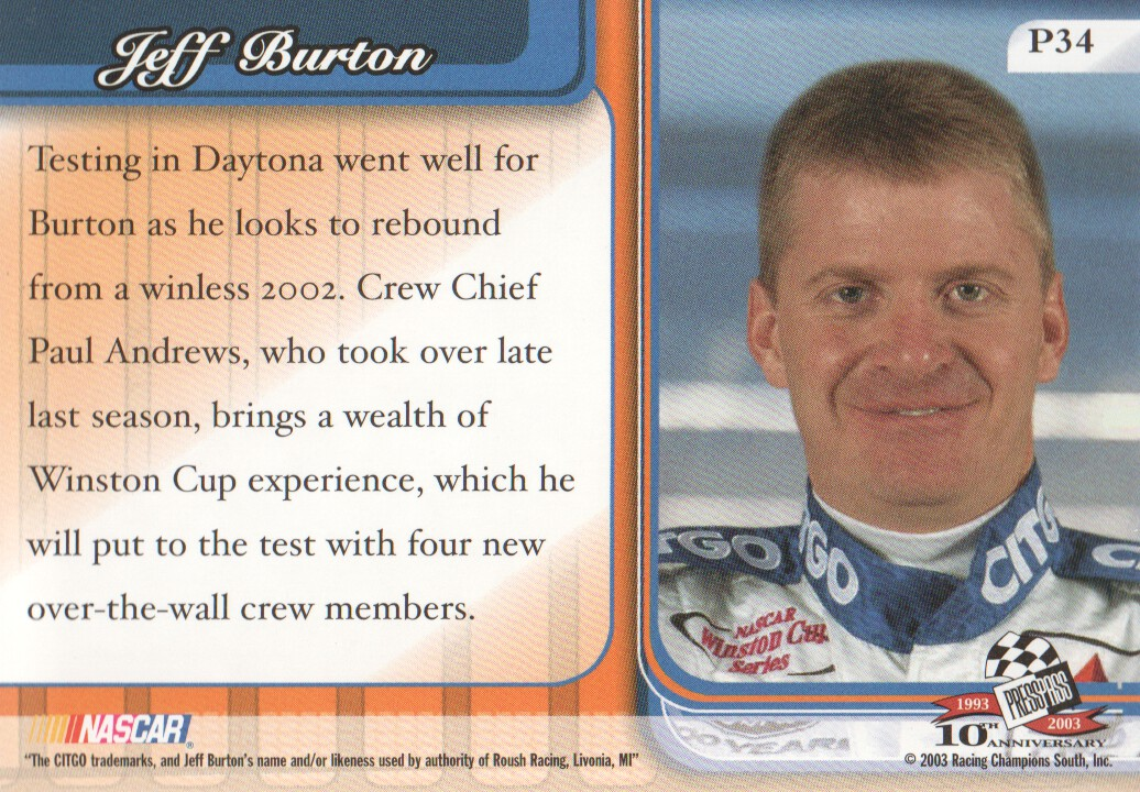 2003-Press-Pass-Premium-Parallels-NASCAR-Racing-Cards-Pick-From-List thumbnail 39