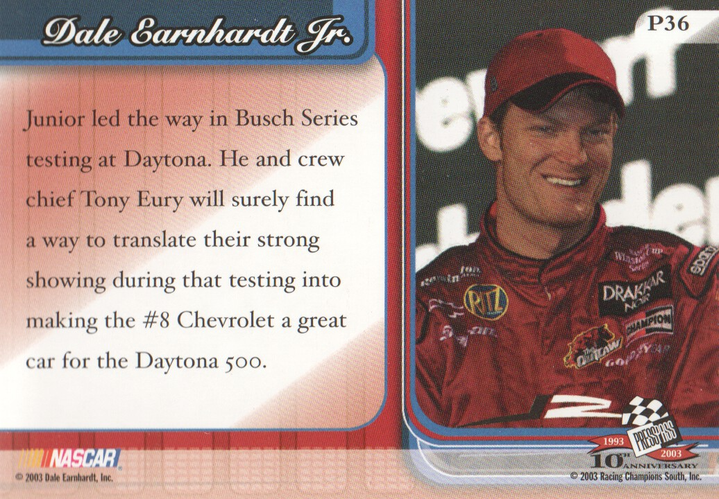 2003-Press-Pass-Premium-Parallels-NASCAR-Racing-Cards-Pick-From-List thumbnail 41