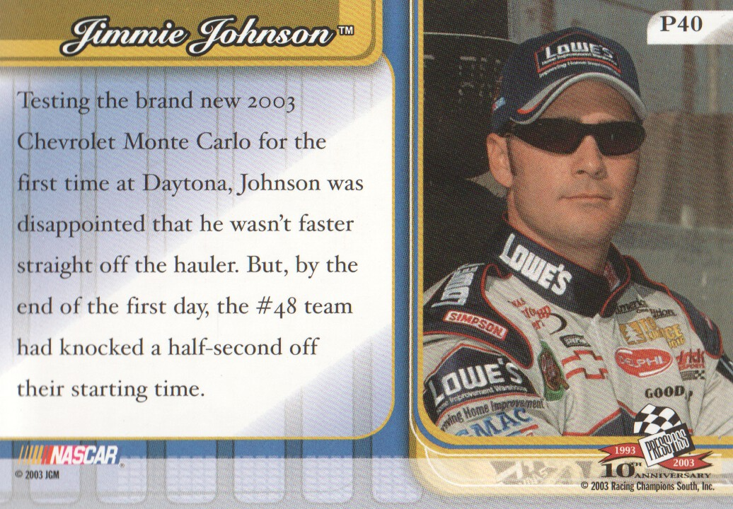 2003-Press-Pass-Premium-Parallels-NASCAR-Racing-Cards-Pick-From-List thumbnail 47