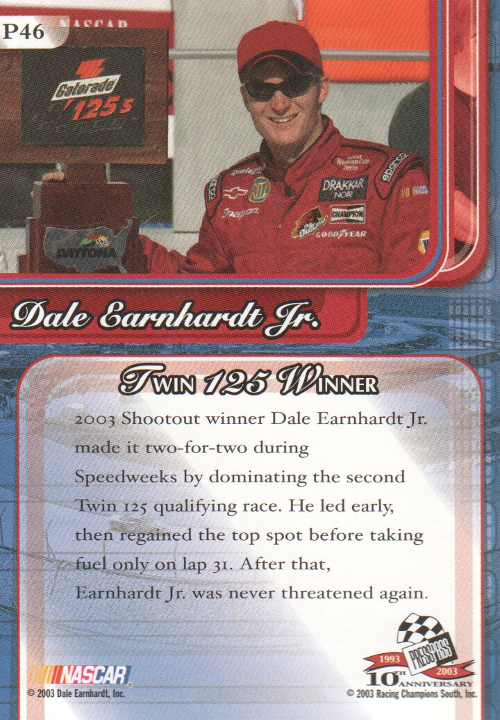 2003-Press-Pass-Premium-Parallels-NASCAR-Racing-Cards-Pick-From-List thumbnail 53