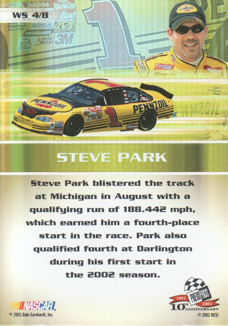 2003-Press-Pass-Eclipse-Inserts-NASCAR-Racing-Cards-Pick-From-List thumbnail 59