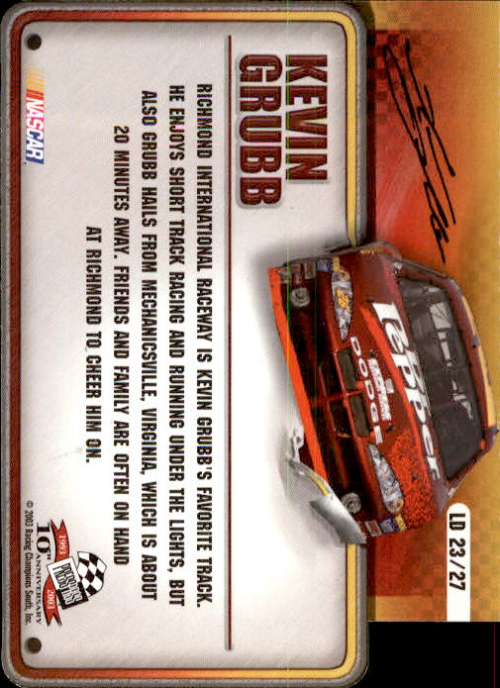 2003-Press-Pass-Racing-Eclipse-Stealth-Inserts-You-Pick-Buy-10-cards-FREE-SHIP thumbnail 343