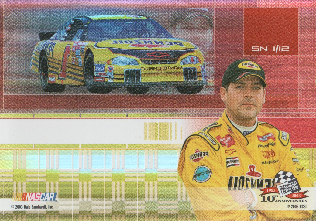 2003-Press-Pass-Eclipse-Inserts-NASCAR-Racing-Cards-Pick-From-List thumbnail 41
