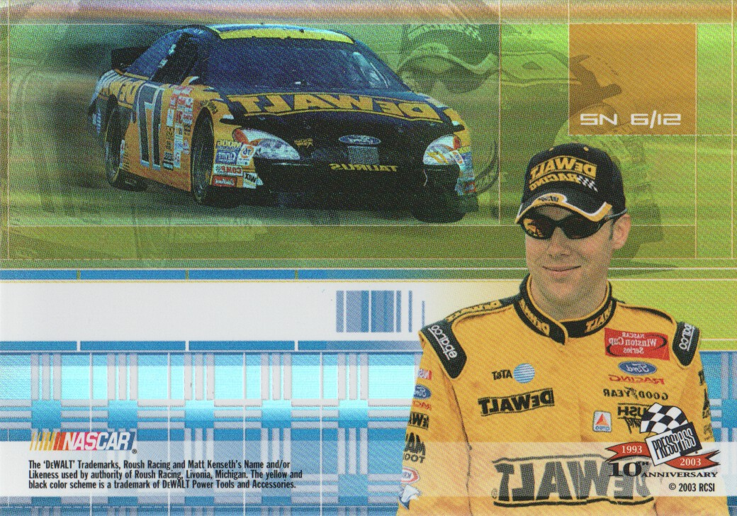 2003-Press-Pass-Eclipse-Inserts-NASCAR-Racing-Cards-Pick-From-List thumbnail 47