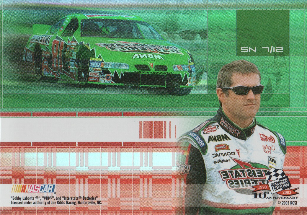2003-Press-Pass-Eclipse-Inserts-NASCAR-Racing-Cards-Pick-From-List thumbnail 49