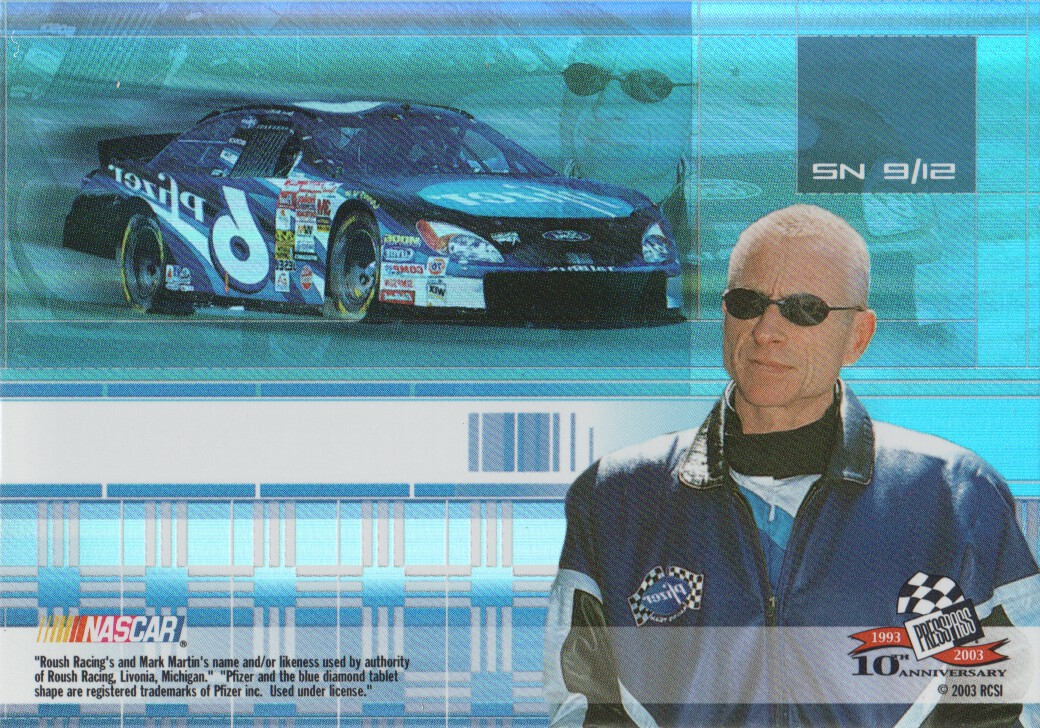 2003-Press-Pass-Eclipse-Inserts-NASCAR-Racing-Cards-Pick-From-List thumbnail 53