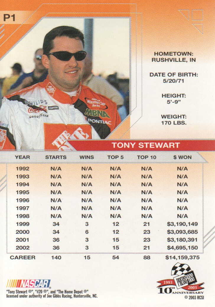 2003-Press-Pass-Eclipse-Parallels-NASCAR-Racing-Cards-Pick-From-List thumbnail 3