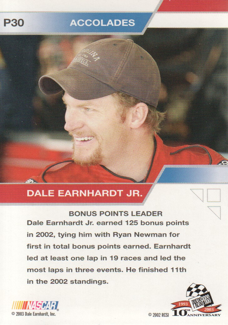 2003-Press-Pass-Eclipse-Parallels-NASCAR-Racing-Cards-Pick-From-List thumbnail 41