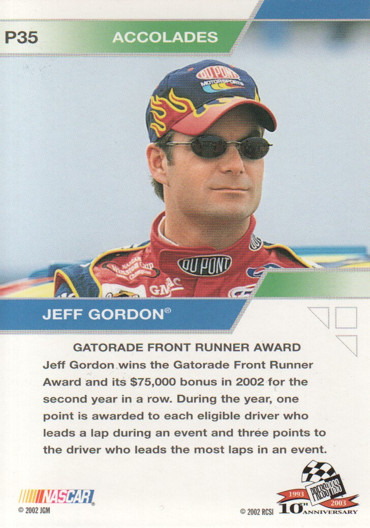 2003-Press-Pass-Eclipse-Parallels-NASCAR-Racing-Cards-Pick-From-List thumbnail 47