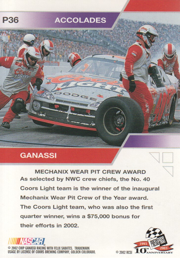2003-Press-Pass-Eclipse-Parallels-NASCAR-Racing-Cards-Pick-From-List thumbnail 49