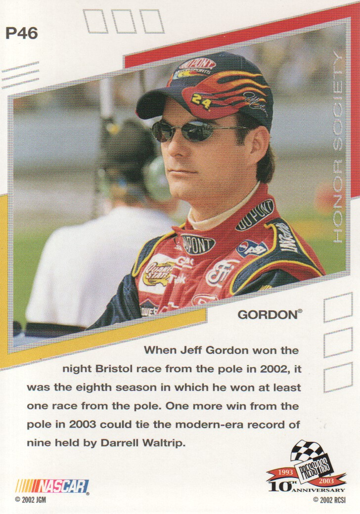 2003-Press-Pass-Eclipse-Parallels-NASCAR-Racing-Cards-Pick-From-List thumbnail 61