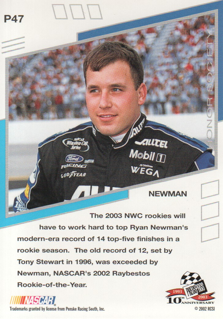 2003-Press-Pass-Eclipse-Parallels-NASCAR-Racing-Cards-Pick-From-List thumbnail 63