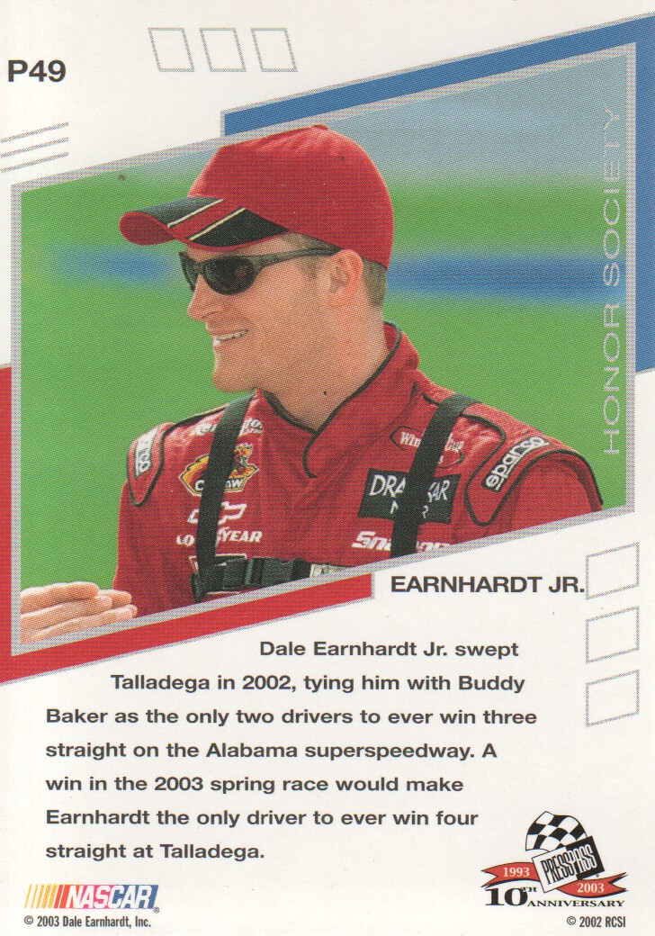 2003-Press-Pass-Eclipse-Parallels-NASCAR-Racing-Cards-Pick-From-List thumbnail 67