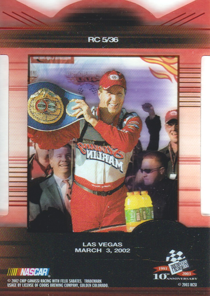 2003-Press-Pass-Eclipse-Inserts-NASCAR-Racing-Cards-Pick-From-List thumbnail 3