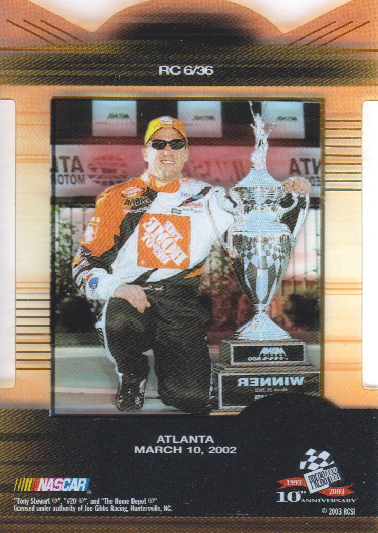 2003-Press-Pass-Eclipse-Inserts-NASCAR-Racing-Cards-Pick-From-List thumbnail 5