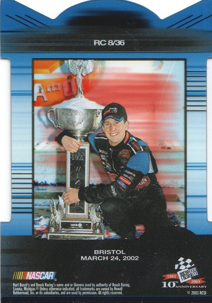 2003-Press-Pass-Eclipse-Inserts-NASCAR-Racing-Cards-Pick-From-List thumbnail 9