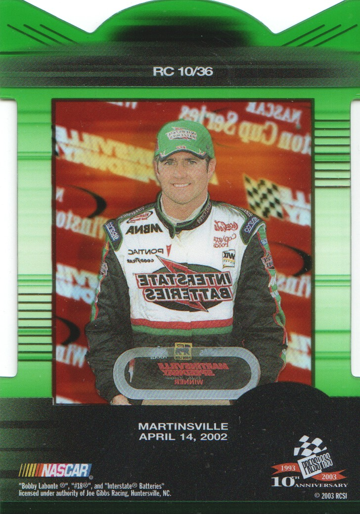 2003-Press-Pass-Eclipse-Inserts-NASCAR-Racing-Cards-Pick-From-List thumbnail 13