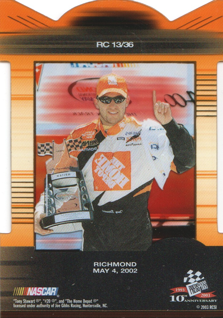 2003-Press-Pass-Eclipse-Inserts-NASCAR-Racing-Cards-Pick-From-List thumbnail 15